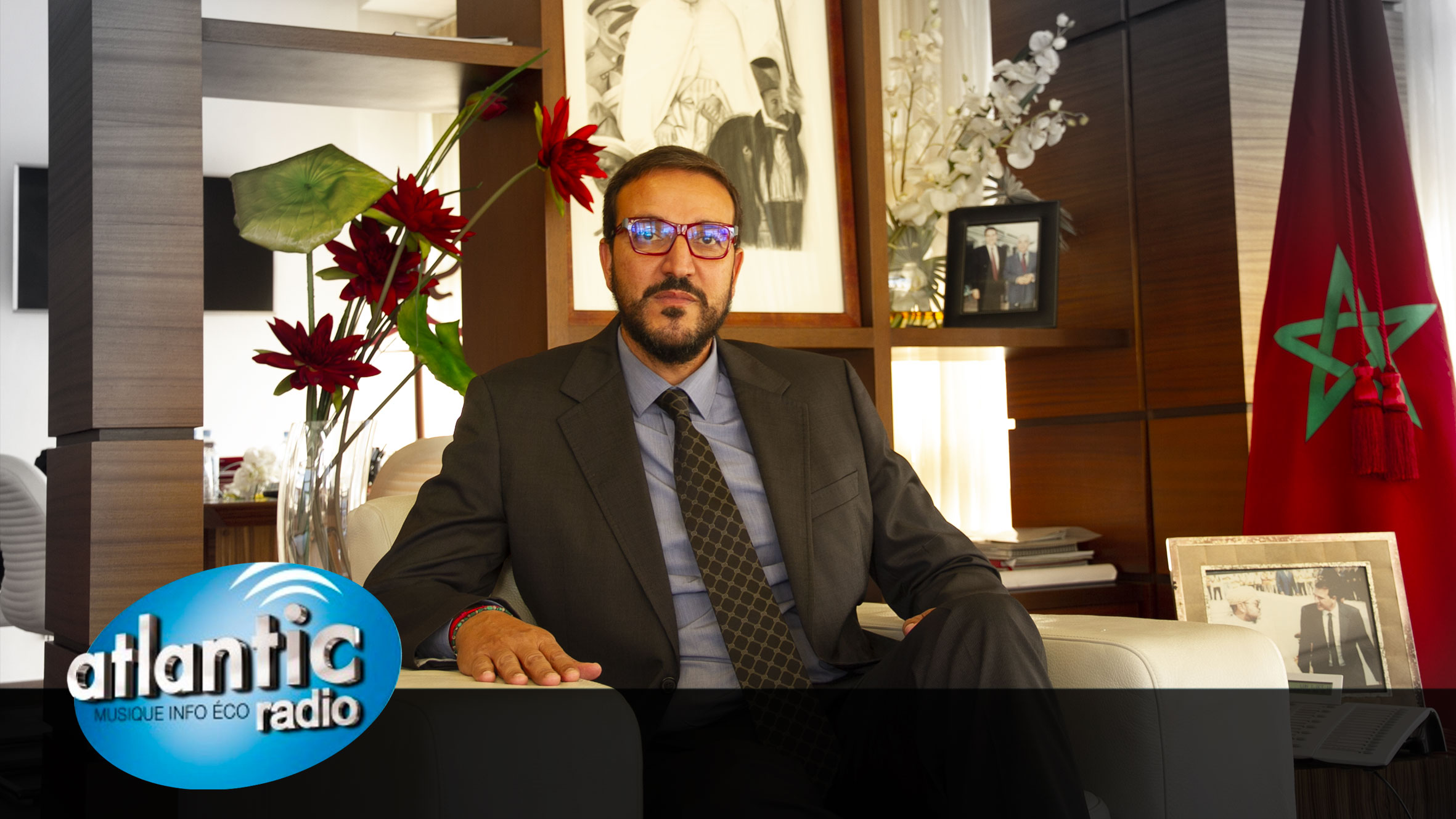 Interview de M. le Président sur Atlantic Radio
