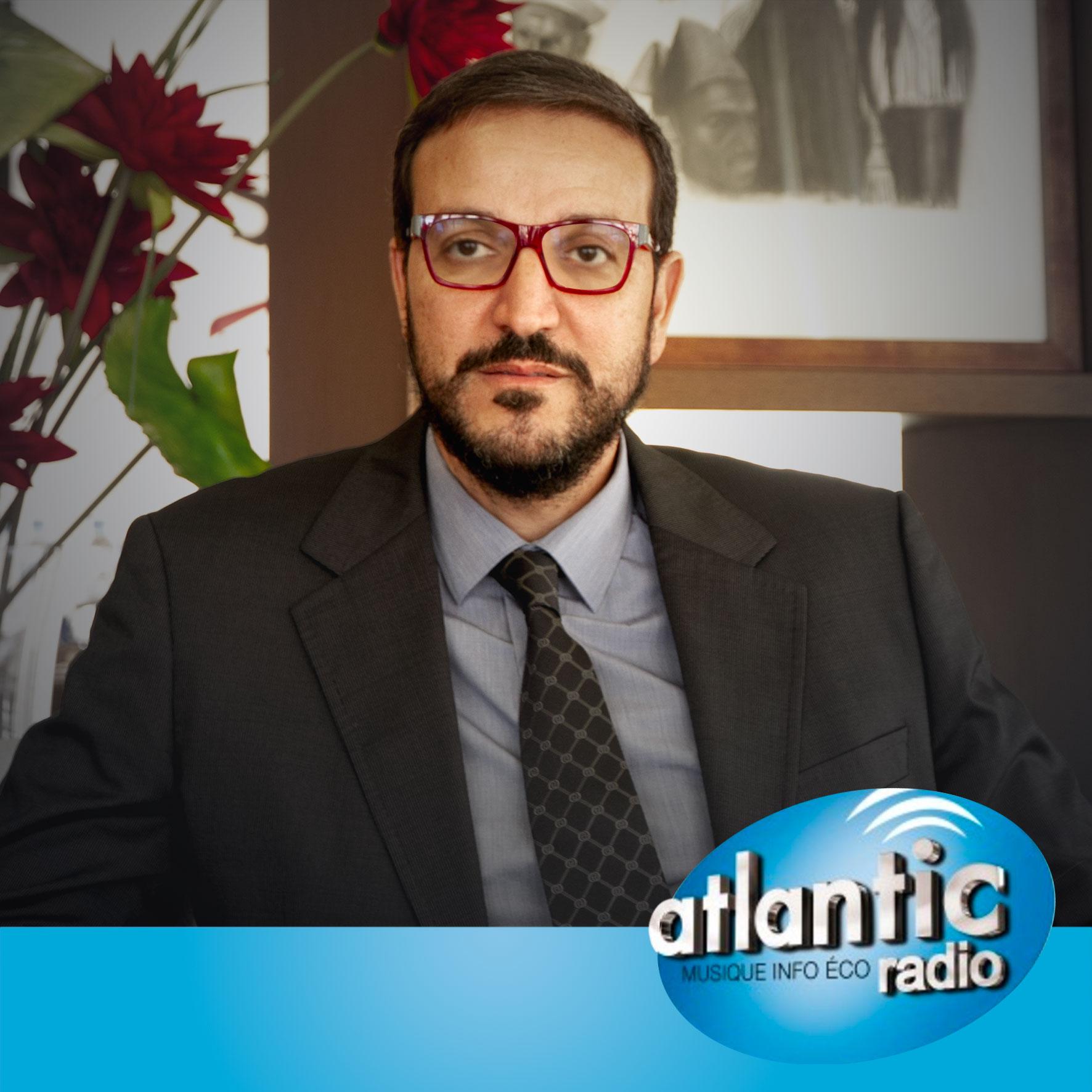 حوار رئيس المؤسسة على راديو أطلنتيك
