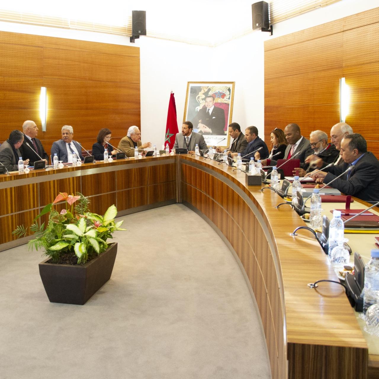 اجتماع اللجنة المديرية